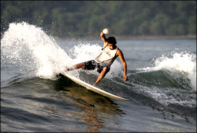 More surfing at Jaco Beach