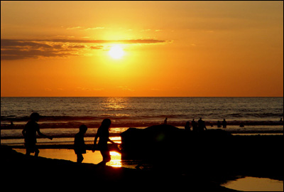 Sundown at Jaco Beach