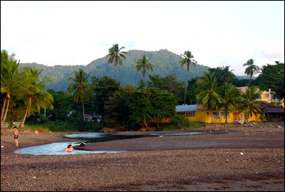 Scene at Jaco Beach